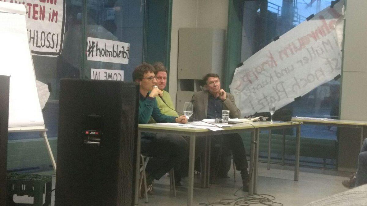VA-Bericht: Podiumsdiskussion mit Robert Ide und Ulf Kadritzke